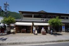 Streets of Arashiyama from the Rickshaw