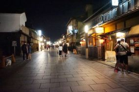 A quiet Gion District