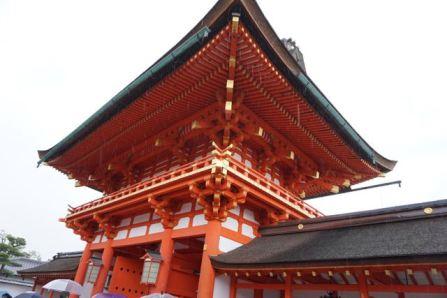 Romon at Fushimi Inari-Taishi