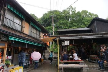 A rest area on Mt Inari