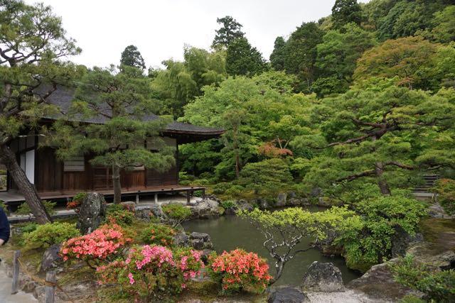The pond beside Togu-do