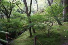 The gardens in Ginkakuji