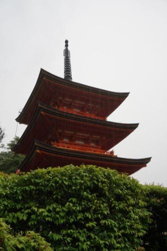 Pagoda at the other end of Kiyomizu-Dera