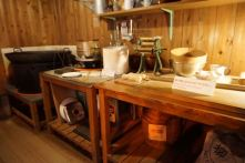 Some of the equipment that was used to invent instant noodles