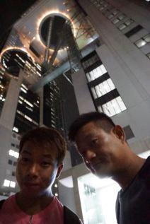 Wefie at Umeda Sky Building