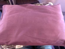Large pillow found on the seat at the time of boarding