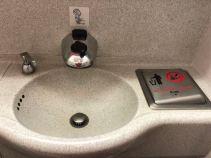 Sensor activated sink
