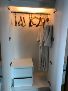 First wardrobe in the second bedroom