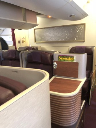 Rear Business Class cabin