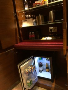 Mini bar area
