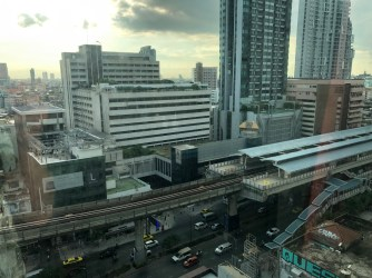 VIE Hootel Bangkok is located next to the BTS station