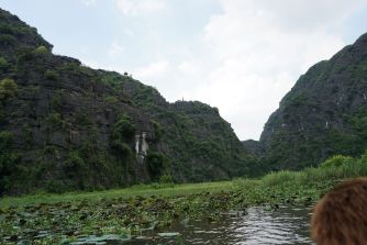Scenery along Ngo Dong River