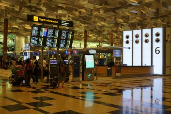 Singapore Airlines Business Class passengers can check-in at Row 6 in Terminal 3