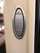 Coat hanger in each seat