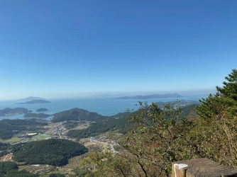 This is one of the great views at Sinseondae Viewpoint
