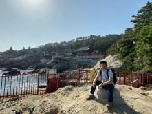Me with Haedong Yonggungsa Temple