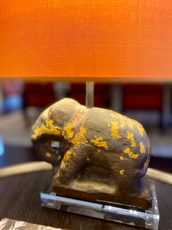 Intrigue Elephant Lamp Stand