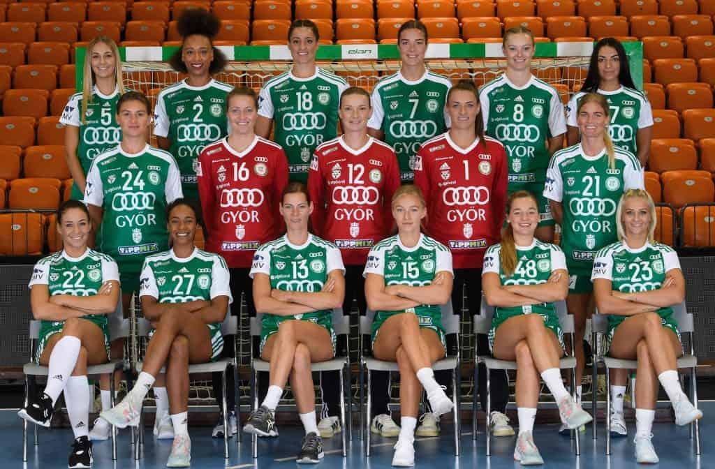 Györi Audi ETO KC – Handball Ungarn und DELO EHF Champions League Saison 2020-2021 – Copyright: Györi Audi ETO KC