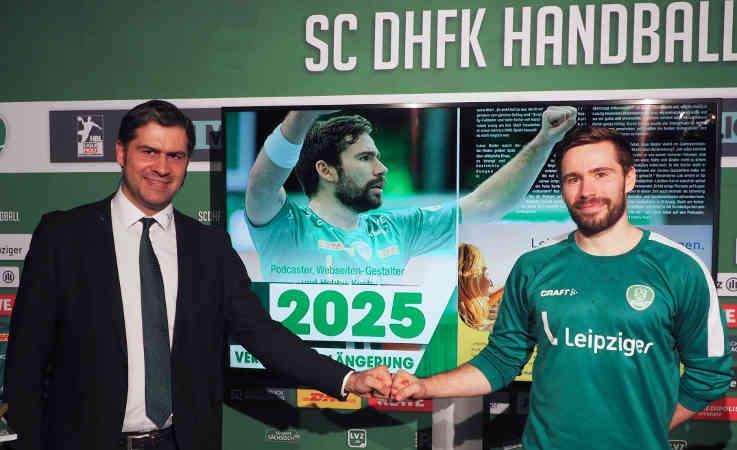 Karsten Günther und Lukas Binder - Foto: SC DHfK Leipzig