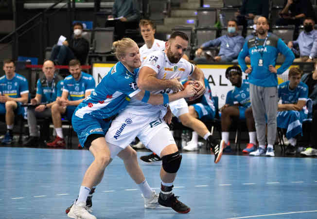 Handball Bundesliga – TVB Stuttgart vs. SC DHfK Leipzig – Foto: Klaus Trotter