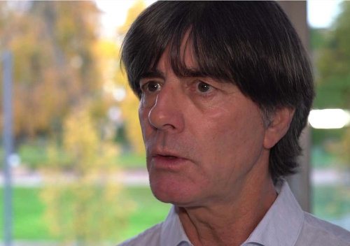 Joachim Löw im DFB Video Interview – Quelle: DFB