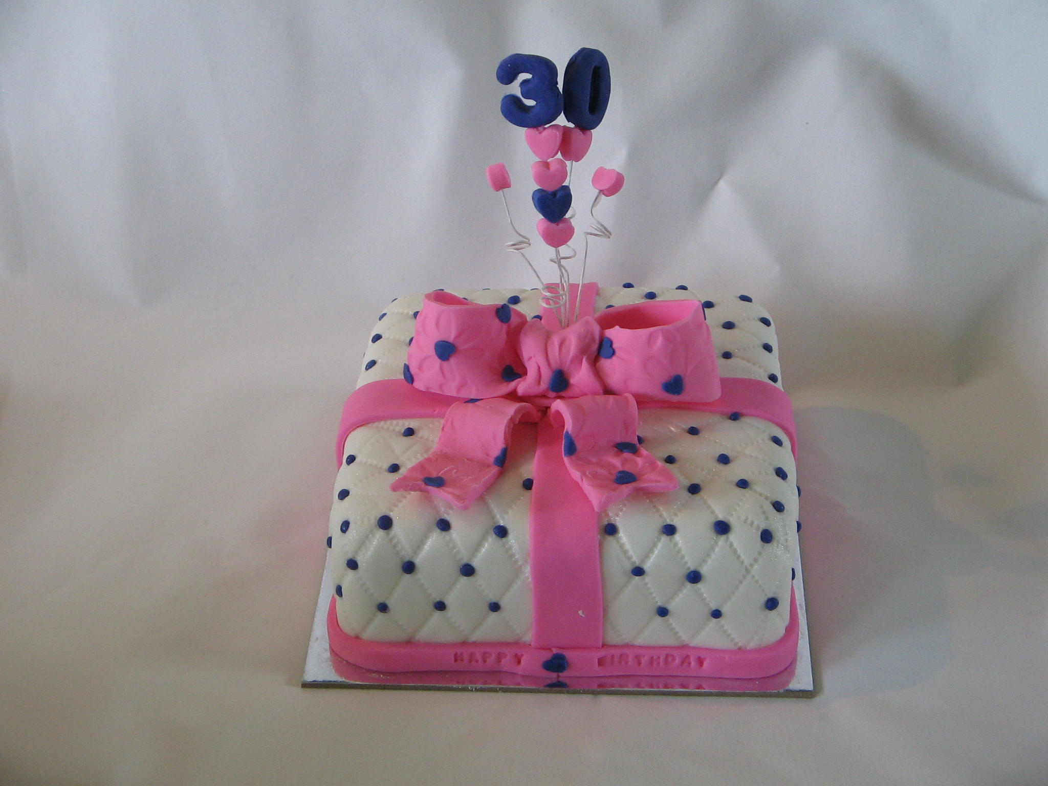 30th Birthday Cake Zeppiedoescakes