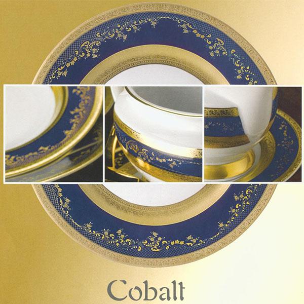 Фарфор Royal Gold - Салатники 19 cм Кобальт (6 Единиц) от Цептер
