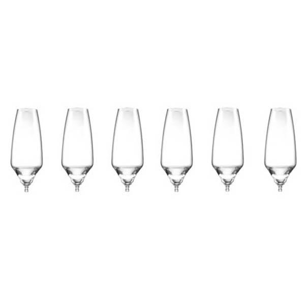 Бокалы для шампанского без ножек - 6 ед. от Цептер