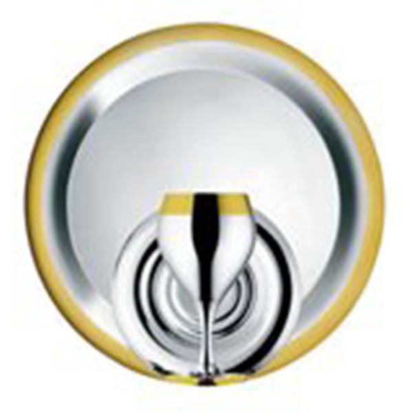 Набор бокалов «Принц» - с золотым декором от Цептер