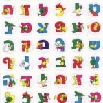 Aleph Bet Stickers