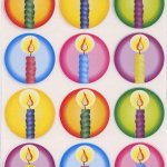Chanuka Stickers