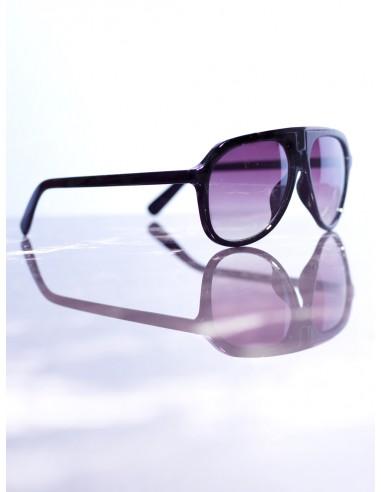 lunettes de soleil noir violet homme
