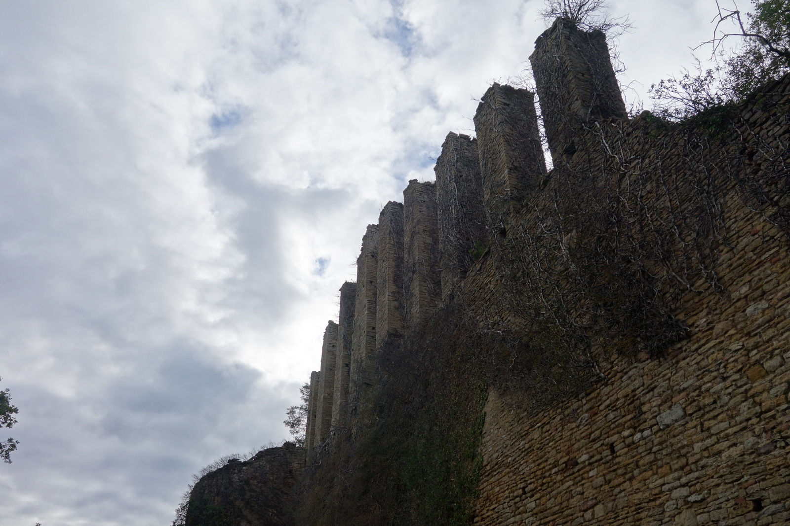 Ruines du château de Lourdon (71)