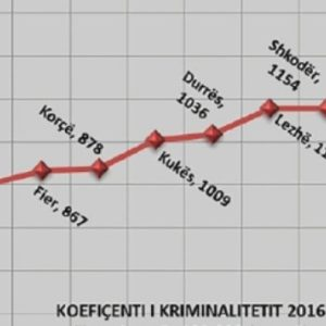 Harta e krimit në Shqipëri: Ja cilët janë qytetet më problematike