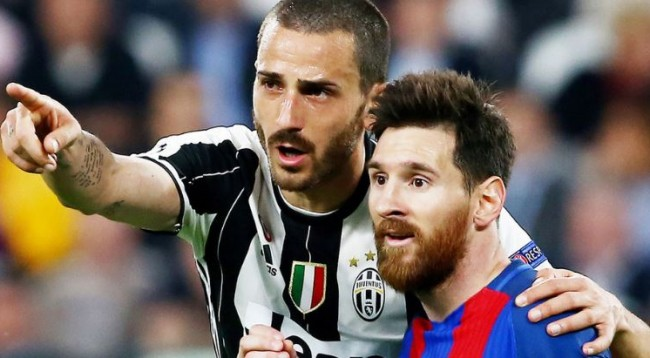Çfarë i tha Bonucci, Messit në fund të ndeshjes