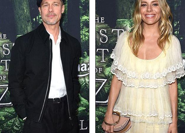 Brad Pitt po flirton me Sienna Miller