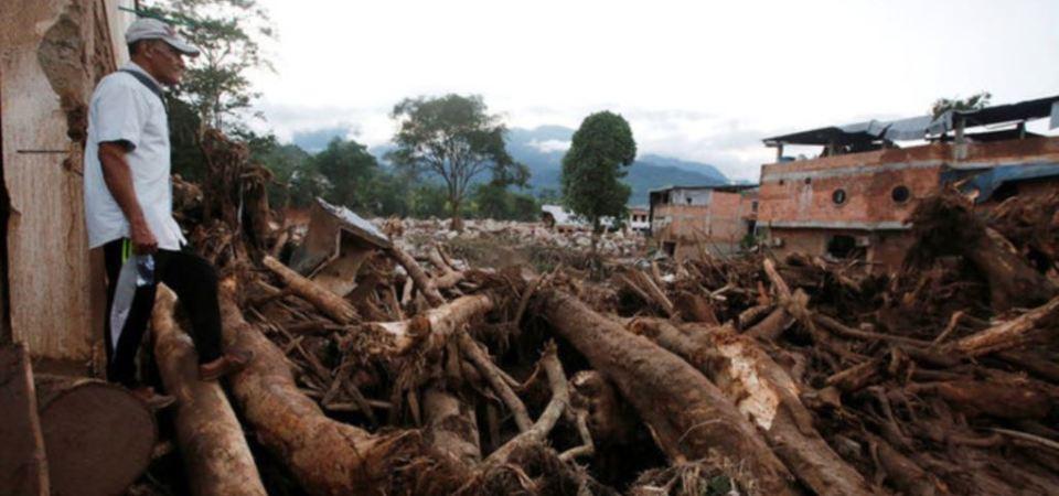 Kolumbi: qindra njerëz humbën jetën për shkak të një rrrëshqitje dheu