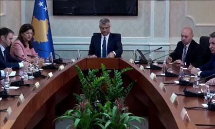 Kosovë, Thaçi mbledh partitë. Data e zgjedhjeve, 11 ose 18 qershor