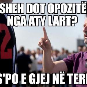 Rama ironizon opozitën nëpërmjet një fotoje me Erjon Braçen