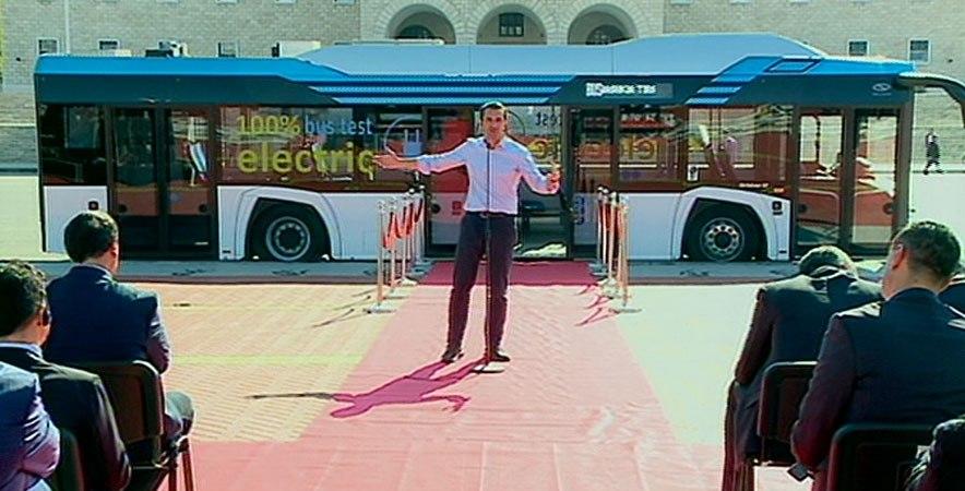 Bashkia e Tiranës prezanton autobusët elektrikë