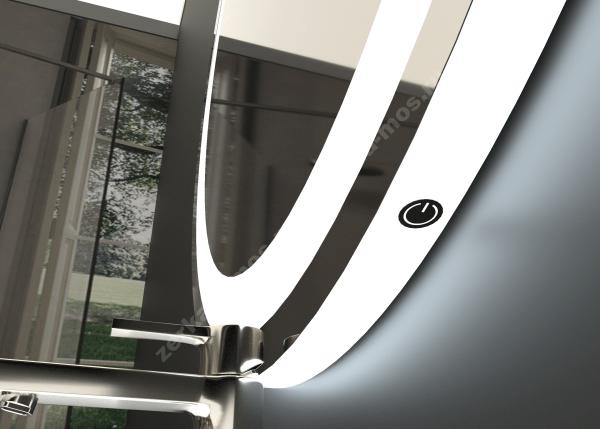 зеркало для ванной ЛУНА-04