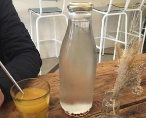 Bouteille en verre Cantine végétale