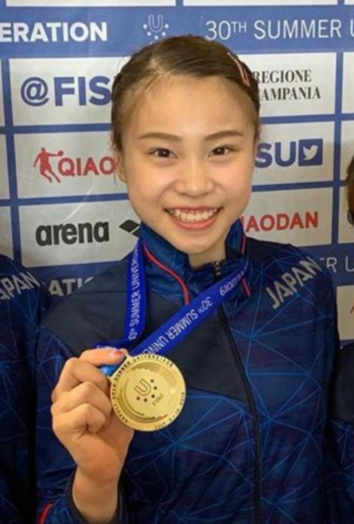 杉原愛子選手と金メダルのイメージ写真