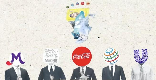 COCA-COLA, NESTLÉ e PEPSICO identificadas como as principais responsáveis pela poluição por plásticos, pelo segundo ano consecutivo