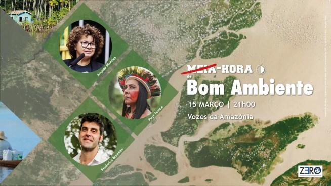 Vozes da Amazónia – Hoje, Ângela Mendes, filha de Chico Mendes e Puyr Tembé