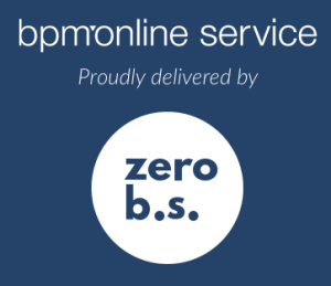 bpm'online service delivered by zerobs