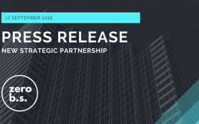 Zero B.S. announces key strategic partnership with bpm'online