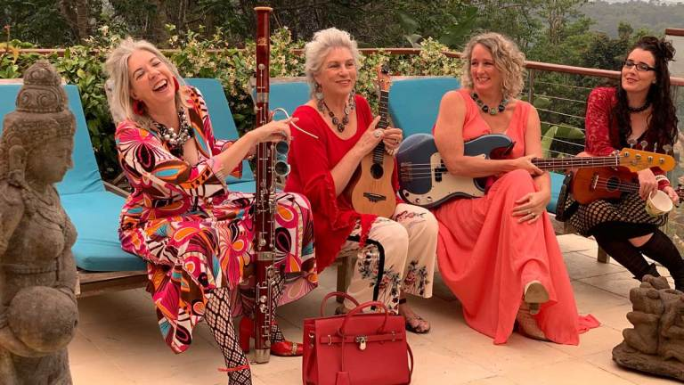 ZEB's First Fundraiser for 2018: Sunday 18 March 3-4pm. A Garden Concert with THE LOVEYS!