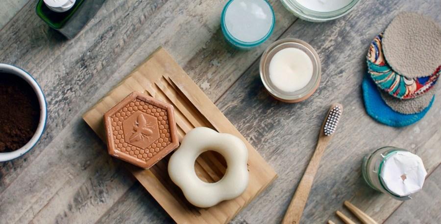 tous les produits possible de faire lors des ateliers : savon, dentifrice et autres