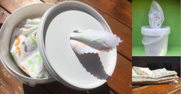 DIY boite a mouchoirs zero dechet